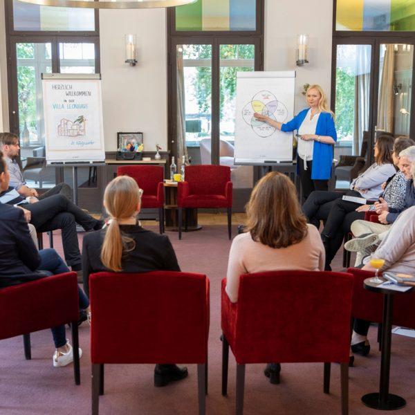 Business Coach-Ausbildung: Schnuppern im Ausbildungskurs
