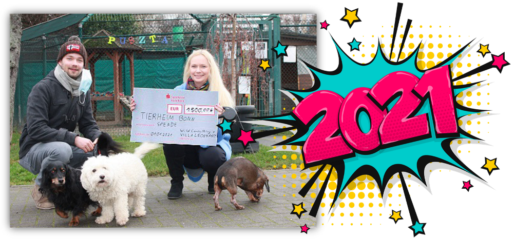 Neujahrs-Aktion: Spende für Tiere in Not
