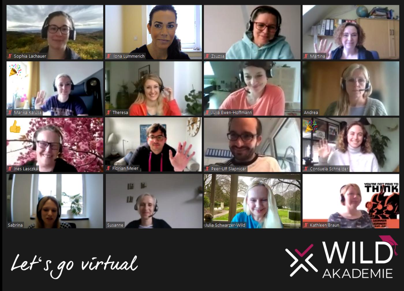 Ausbildung zum geprüften Business Coach (BDVT & WCTC) mit 16 Teilnehmer*innen gestartet